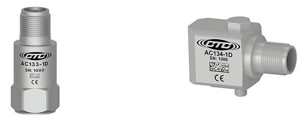 CTC AC133 and AC134 Accelerometers