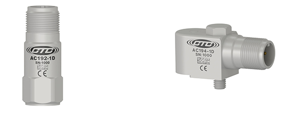 CTC AC192 and AC194 Accelerometers